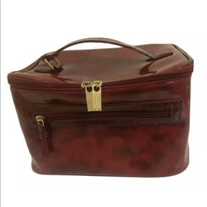 Elizabeth Arden Cosmetic Carry Case Red Classic